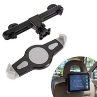 Wholesale 12 Pc Monitor - Wholesale- Universal 360 Degree Car Tablet Holder Car Back Seat Headrest Monitor Mount Holder for Size 7-12 Inch Tablet PC