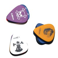 Wholesale Personality Monster Pattern Scrub Guitar Picks Mediators Guitar Accessories