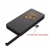 Wholesale Mobile Vision Camera - Spy Camera HD 1080P DVR Hidden Mobile Power Bank Model Camera LED Display Screen Motion Detection Video Recorder Night Vision Camcorder