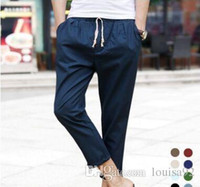 Wholesale Beige Slacks Men - Joggers Pants For Boys S5Q Track Sweat Pants Basketball Sport Jogging Pants Hip Hop Gym Jogger Dance Slacks Harem Baggy Sweat Trousers