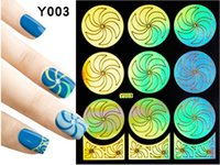 Wholesale Vinyl Reusable Stickers - Nail Art Stencil Guild Reusable Stamping Guild Cut Out Nail Art Template 50 patterns Nail Art Stencil Vinyl Decal Stickers