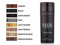 Wholesale Styles Sprays - Hair Loss Concealer Instant Styling Powders 27.5g Toppik Hair Keratin Fiber Spray Applicator