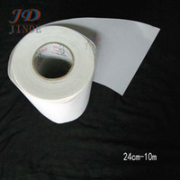 "Wholesale Hot Iron Transfers - 24cm-10M lot Hot Fix Iron On Transfer Paper 9.45""X33Feet Hot Fix Tape"
