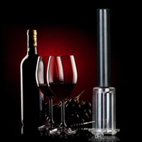 Wholesale Wine Bottle Corks Free Shipping - Hot Arrival Top Quality Red Wine Opener Air Pressure Stainless Steel Pin Type Bottle Pumps Corkscrew Cork Out Tool Free shipping