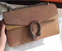 Wholesale Trendy Shoulder Bags - fashion hot genuine leather chain G folded shoulder bag 28*18*9cm luxury trendy brand handbag crossbody messenger handbag 400249 top