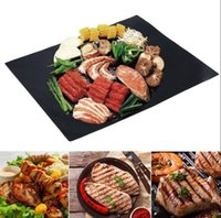 BBQ Grill Mat Magic Mats Non Stick Grilling Backing Outdoor Plate Portable Fácil Clean Outdoor Picnic Cooking Tool 40x33cm KKA1849