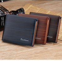 Wholesale Free Money Credit Card - PU Leather Wallets New Arrival For Mens Designer Bifold Money Purse High quality Cluch Cente Party Traver Wallet H300371 Free Shipping