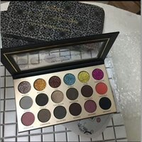 Wholesale Easy Come - New coming Glamierre Brand Solar Glow Eyeshadow Palette 18 ultra pigmented shades a mix of glitter matte and shimmer shadows Gift