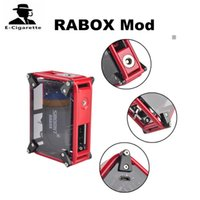 Authentic Smoant RABOX Mod Eingebaute 3300mah Batterie 80W Mechanische Mod Cloupor Vape Mod DHL Free 2202017