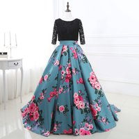 Wholesale Free Pictures Prints - Beautiful Newest Free Shipping Sweetheart Printed Prom Dresses 2017 Prom Gowns Formal Women Dresses Evening Dress Gowns