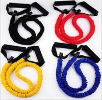 Wholesale Rope Workout Band - Yoga Pilates Stretch Resistance Bands Sports Latex Resistance Bands Workout Exercise Pilates Yoga Fitness Tubes Pull Rope