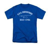 Wholesale Cheap Athletic Shirts - Star Trek Enterprise Athletic NCC-1701 Shirt new High Quality 100% Cotton men's T Shirt cheap sold Free shipping