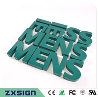 Wholesale Outlet Grounding - Factory Outlet Outdoor seamless welding precision grinding painted stainless steel letters, dimensional words