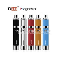 Wholesale Black Glass Jars - Yocan Magneto Kit 1100mAh Battery Magnetic Coil Cap Built-in Silicone Jar Ceramic Coil Wax Vape Dab Pen Starter Kits