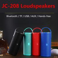 Wholesale Hi Fi Car - JC-208 JC-206 JC-188 Bluetooth Wireless Portable Speakers Stereo Hi-Fi Super Bass Outdoor Loudspeaker Support TF Card USB FM Car Mp3 Player