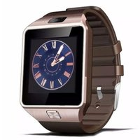 Wholesale Wristwatch Camera Phone - DZ09 Smart Watch PK A1 With Camera Bluetooth WristWatch SIM Card Smartwatch For Android Phones Support Multi