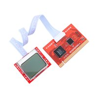 post diagnostic card laptop pci al por mayor-Tablet PCI Motherboard Analizador Diagnóstico Probador Post Tarjeta de Prueba para PC portátil de escritorio PTI8