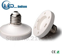 Wholesale Lamp Gx53 - E27 TO GX53 adapter Conversion socket High quality material fireproof material GX53 socket adapter Lamp holder