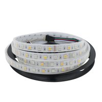 Wholesale Led Strip Lights Waterproof Tube - RGBW RGBWW 5050 SMD 300 LED Tube-Waterproof IP67 DC12V LED Strip Light Multi olor Outdoor Light for Christmas Party