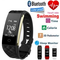 Hot Sale Bluetooth Smart Band Wristband Monitor de frequência cardíaca IP67 pulseira de banda larga à prova d'água para Android IOS Phone Activity Tracker