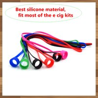 Silicone Lanyard Rings Collier Band vape String pour EVIC EGO ONE I JUST S SUBVOD Target Mini kit collier en silicone avec Vape Band