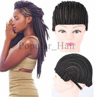 Wholesale Synthetic Weaving Wigs - Braided Cap For Weave Wig synthetic Hair Products Cornrow Wig Caps For Making Wigs With Elastic Band Women Hairnets Easycap