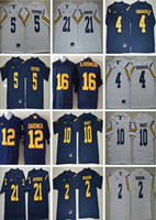 Wholesale Tom Brady Football Jerseys - NCAA Michigan Wolverines Football 10 Tom Brady College Jerseys 2 Charles Woodson 4 Jim Harbaugh Jersey 5 Jabrill Peppers 21 Desmond Howard