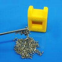 Wholesale Screwdriver Magnetizer - Wholesale- New 2017 Magnetizer Demagnetizer Magnetic Pick Up Tool Screwdriver Tips Screw Bits TL-135