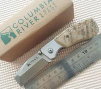 Wholesale crkt knives survival - CRKT Knife Graham Stubby Folding Razel Knife Folding EDC Pocket Knives Camping Survival Hunting Knife