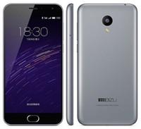 meizu m2 toptan satış-Unlocked Orijinal MeiZu M2 Akıllı Cep Telefonu 2 GB RAM 16 GB ROM Flyme MT6735 Android Quad Core 5.0 inç 13.0MP LTE 4G Telefon hayatınız için