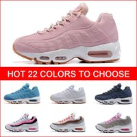 Wholesale Cheap Hight Quality Women s Running Shoes White Womens Air Cushion Sneakers Boots Red Woman Walking Sports Athletic Tennies Shoes
