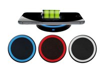 Wholesale Qi Wireless Power - High Quality 5 Colors Universal Qi Wireless Power Charging Charger Pad For Mobile Phone for iPhone 6 Samsung High Quality