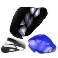 Wholesale honda chrome for sale - Group buy Black Blue Chrome Windscreen Windshield for Honda CBR600RR
