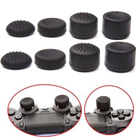 Wholesale Thumb Controller - 8 Pcs Anti-Skid Controller Thumb Grip Thumbstick Cap Cover for Playstation PS4
