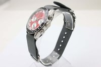 Wholesale New Stylish mm Cosmograph Red Face Fabric Belt Stopwatch Movement Superlative Chronometer Certified Male Watch