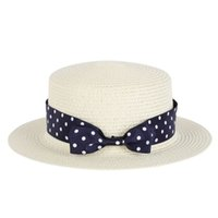 Wholesale Decorated Sun Hats - Wholesale- Women Summer Beach Wide Brim Sun Hat Straw Hat Floppy Pearls Decorate Caps