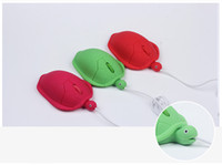 Wholesale Cute Mouse For Laptop - Mini Cute Tortoise Wired 3D Optical Turtle Shape Mouse USB 3D Animal Mice for Laptop Computer Comfort Hand Cartoon Mouse Gamer Children Gift