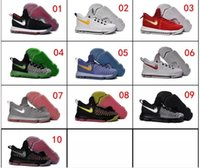 Wholesale Cheaper Kd Shoes - Cheaper Very popular Wholesale Basketball Shoes Men KD 9 Durant IX Boots Cheap Hot Sale Sneakers High Quality 2018 KD9 Sports Shoes Size7-12