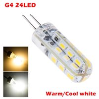 Wholesale high power led g4 resale online - High Power SMD3014 W W V G4 LED Lamp Replace W halogen lamp Beam Angle LED Bulb lamp warranty