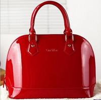 bride bag achat en gros de-Gros-nouveau sac à main de haute qualité femmes messager sacs mariée en cuir verni Crossbody sacs pour les femmes de luxe en cuir Designer sacs à main