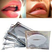 Wholesale Wholes Sale Masks - Wholesale-Beauty Collagen Lip Care Gel Mask 5 PCS exfoliating Moisture Essence Anti-Ageing whole sale A2
