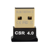 usb drahtloser adapter für laptop-computer großhandel-Wireless USB Bluetooth Adapter V4.0 Bluetooth Dongle Musik Sound Empfänger Adaptador Bluetooth Sender für Computer PC Laptop