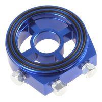 Wholesale Race Oil Filter - Racing Sport JDM Aluminum Oil   Gauge Filter Sandwich Adapter Plate Kit CEC_928