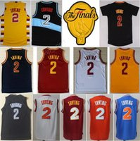 Men sports team patches - New Men Kyrie Irving Basketball Jerseys Final Patch Kyrie Irving Jersey For Sport Fans All Stitched Team Navy Blue White Yellow Red