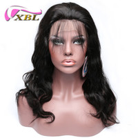 Wholesale Wig Change - XBL Body Wave Hair Wig Virgin Human Hair Body Wave Full Lace Wigs Within Three Hair Clips To Change