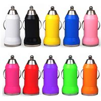 Wholesale car lighter adapter mini for sale - 200pcs Colorful Car Charger Bullet Mini USB Iphone USB Adapter Cigarette Lighter For iphone Headphone Speaker Mp3 Gps for samsung