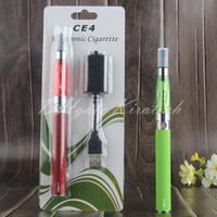 ingrosso prezzi dei caricabatterie-CE4 ego Vaping ego olio penna vape ego-t blister starter kit e liquido vaporizzatore penne ecig caricatore sigaretta elettronica per il prezzo più basso