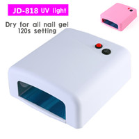 Wholesale Nail Polish Tray - 36W UV Light Nail Lamp for Gel Nails with Sliding Tray and 4 Pcs Nail Bulbs Nail Polish Curing Lamp Dryer
