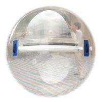 zorb ball tizip großhandel-TPU starker menschlicher sortierter Hamster-Ball Zorb-Ball-Wasser-Wanderer aufblasbarer klarer Deutschland-Tizip-Reißverschluss 1.5m 2m 2.5m 3m Freies Verschiffen