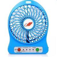Wholesale Electric Fans Computer - The new USB portable rechargeable mini electric fan fan wind students computer desk fan